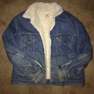 RARE 1980s orange tab Levi jacket